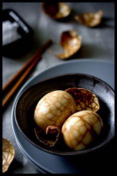 / / . Chinese Tea Eggs