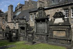 Greyfriar Cemetery, Edinburgh. Probably the world's most dangerous graveyard, Greyfriar is so renowned for its violent paranormal activity that it was made inaccessible to tourists.