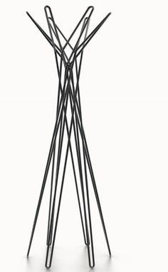Twister coat hanger