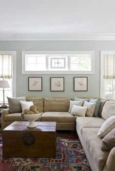 Paint color: Benjamin Moore Tranquility