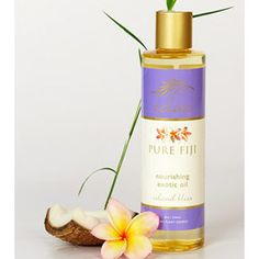 Pure Fiji Exotic Bath & Body Oil - Island Bliss Infusion    #Fiji, #Coconut, #Island Bliss, #Massage Oil, #Massage, #Aromatherapy, #Island, #Pure Fiji, #Skincare, #Exotic, #Tropical, #Coconut Oil, #Organic, #Spa