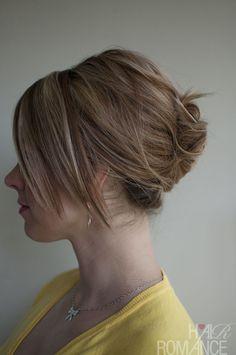 Hair Romance French roll