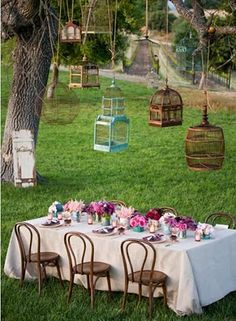 lovely spring dinner party!