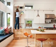 Photo Gallery: White Kitchens | House & Home