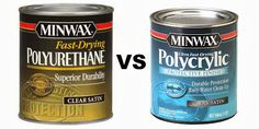 Furniture Painting Tips: Polycrylic vs Polyurethane - Two It Yourself