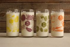 Juice Glasses #accessories #american-made #gift #home #housewarming-gifts #kitchen #made-in-usa