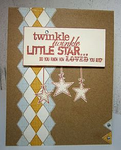 Twinkle, Twinkle Little Star by pryn - Cards and Paper Crafts at Splitcoaststampers