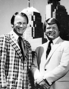 Barry Switzer and Jimmy Johnson! 1964 NCAA Football Champion Arkansas Razorbacks