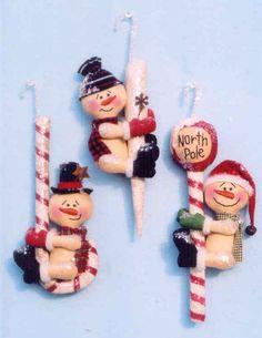 Snowman ornaments pattern