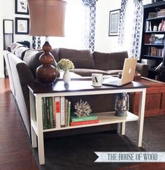 DIY End Table! The Perfect End Table!! I want to build this right now!! I can't wait to move into our house to get building!!