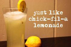 Yum!  I love their lemonade!