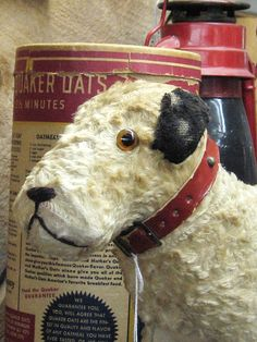 Wire-haired Fox Terrier Old toy