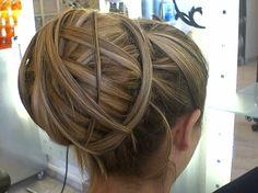 Another hairstyle from a Greek creative hairstylist!  Salon: VeNIOU Coiffure  Hair by: Kalliopi Veniou