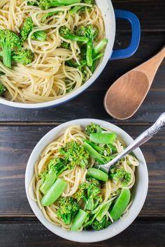 Broccoli Spaghetti Pasta