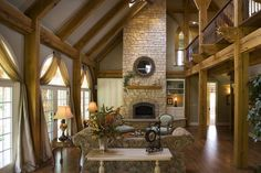 photos of 2 story great room | Tuscan Home Plans, House Plans, One & Two Story Floor Plans