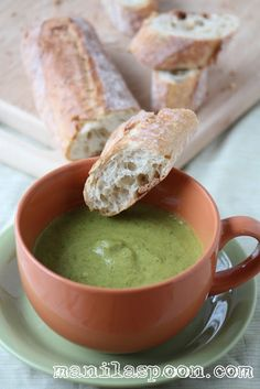 ☆BROCCOLI SOUP☆ Flavorful and so good for you, gluten-free and can also be made completely dairy-free! :)
