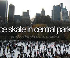 bucket list bucketlist, ice skate, buckets, die, ice skating, central park, christmas trees, elves, bucket lists