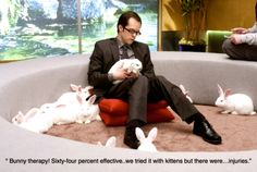 Bunny Therapy makes it to TV