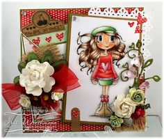 Whimsy Stamps - Time 4 Tea Designs - Fall Love by Iris