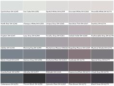 Sherwin Williams Paint- Olympus White, Quicksilver or North Star