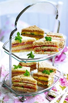 The Basics to Making Tea Party Sandwiches by Anyone for tea? Catering
