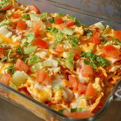 . Doritos Chicken Casserole Recipe from Grandmothers Kitchen.