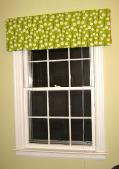 diy window valence