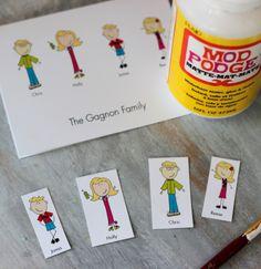 person famili, famili magnet, modpodg
