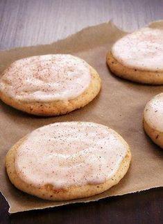 Chai Tea Eggnog Cookies #MakeMerry