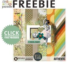 Authentic mini kit freebie from Renan Kneipp