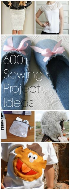 600+ Fabric-Specific DIY Sewing Projects