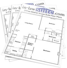 Mother In Law Suite On Pinterest Floor Plans House