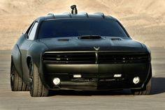 U.S. Air Force Car: Dodge Challenger Vapor ( black matte )