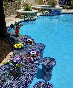 Poolside beauty