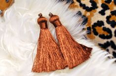 diy tassel earrings by ...love Maegan, via Flickr