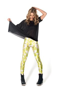 Pear Leggings - LIMITED by Black Milk Clothing