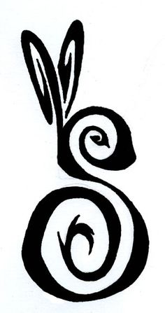 I think I may have found a serious contender for a rabbit tattoo...you know, if i was gonna get one