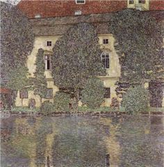 The Schloss Kammer on the Attersee, III - Gustav Klimt