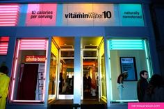 Thirsty? VitaminWater10 Pop-up Shop