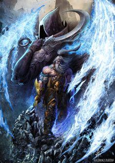 Barbarian Heroe from Diablo 3 by demitrybelmont on deviantART