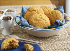 Sweet Potato Buns: light and fluffy, great for brunch or take-along snacks! #vegan, #glutenfree #recipe   rickiheller.com