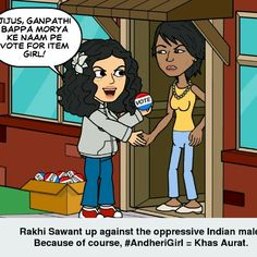 Rakhi Sawant against