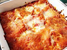 Freezer friendly lasagna roll up recipe - New Leaf Wellness