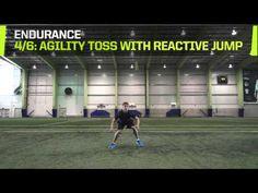 The Program Hockey Training: Goalie Endurance Drills - YouTube