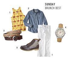 Sunday Brunch Best by Landon Miller for #target #menswear