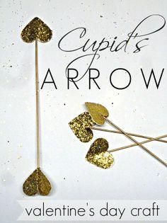 DIY Heart Arrow