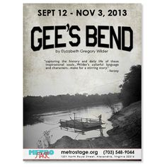 THURSDAY NIGHT: Gee's Bend