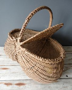 hand woven egg basket