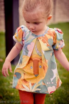 Lizzy Top and Dress pattern