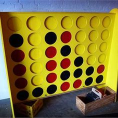 Play giant Connect Four at Tall Paul's with a cold beer. #craftbeer #gainesville